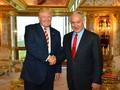 Trump Netanyahu The Times Israel USA